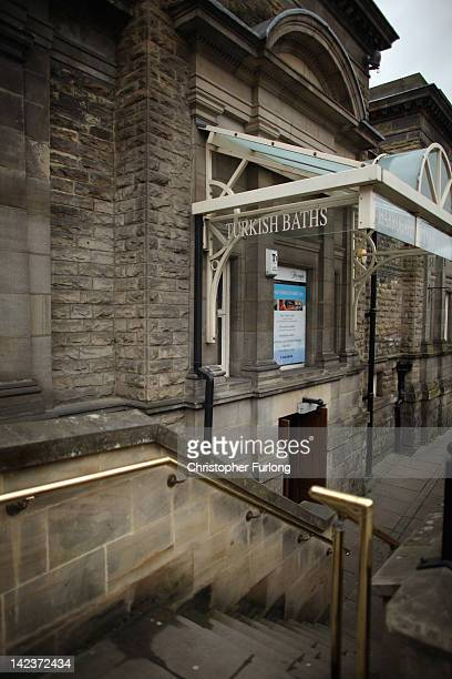 The Turkish Baths in the spa town of Harrogate on April 3 2012 in Harrogate England With only a few months to go until the opening ceremony of the...