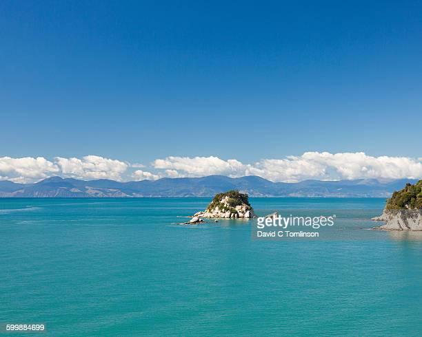 The turquoise waters of Tasman Bay, Kaiteriteri