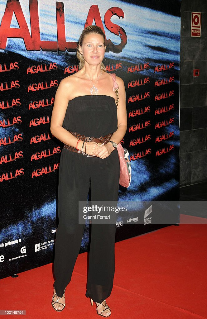 The Tv presenter Anne Igartiburu in the premiere of the film 'Agallas', 3rd September 2009, Cinema 'Proyecciones', Madrid, Spain.