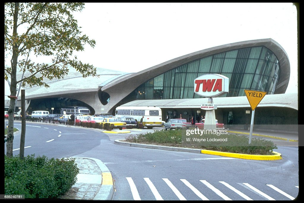 The TWA terminal at Kennedy Airport New York New York 1967   Location TWA Terminal John F Kennedy International Airport New York New York USA