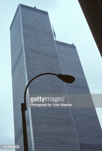 The twin tower : Stockfoto