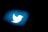 The Twitter Inc logo is displayed on the company's preliminary prospectus arranged for a photograph in Washington DC US on Monday Oct 28 2013 Twitter...