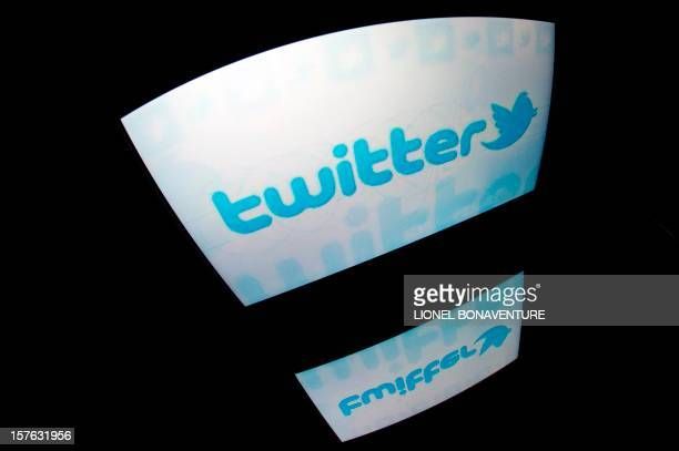 The 'Twitter' logo is seen on a tablet screen on December 4 2012 in Paris AFP PHOTO / LIONEL BONAVENTURE / AFP / LIONEL BONAVENTURE