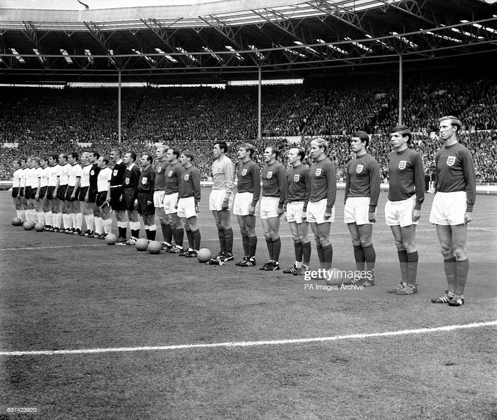 England v West Germany 1966 World Cup Final Wembley Stadium