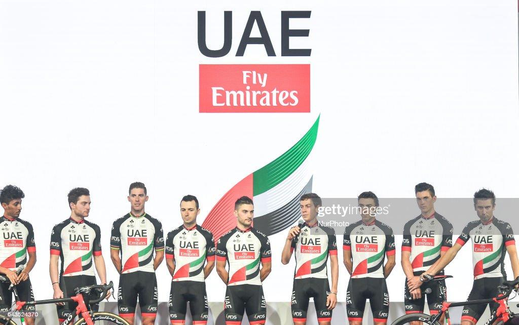 UAE Team Emirates Media Launch