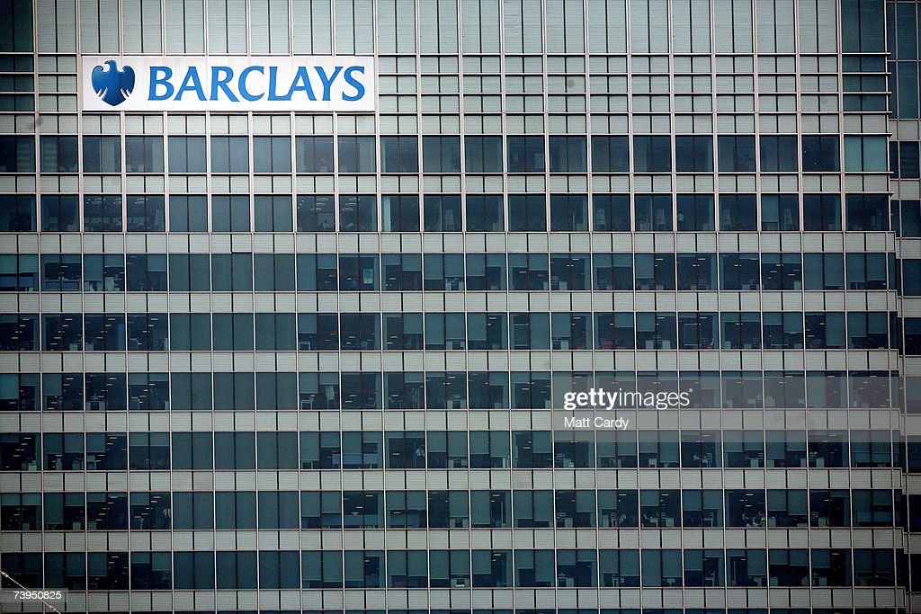The UK headquarters of Barclays Bank stands in Canary Wharf on April 23 2007 in London It is reported that Dutch bank ABN Amro have accepted Barclays...