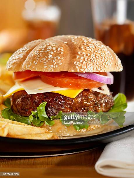 The Ultimate Burger with a Cola