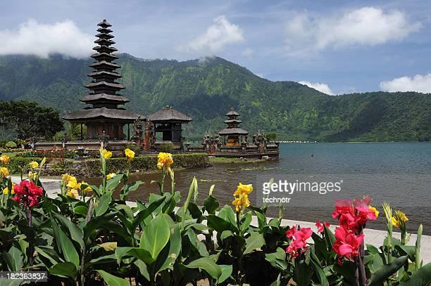The Ulun Danau Temple, Bali, Indonesia