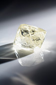 The uncut stone of the diamond