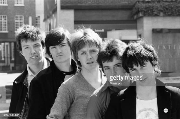 The Undertones' lr John O'Neill Michael Bradley Fergal Sharkey Billy Doherty Dimion O'Neill 15th May 1980