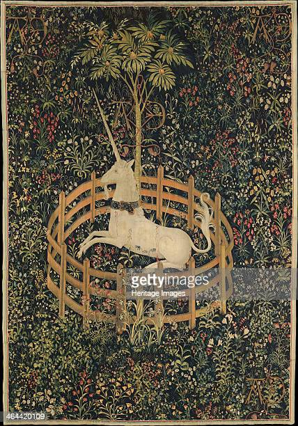 The Unicorn in Captivity c 1500 Found in the collection of the Metropolitan Museum of Art New York