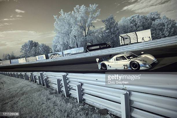 The United Autosports Ford Riley driven by Zak Brown and Mark Blundell drives during the GrandAm Rolex Sports Car Series Watkins Glen 200 at Watkins...