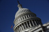The United States Capitol building is seen as Congress remains gridlocked over legislation to continue funding the federal government September 29...