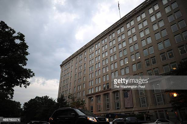 The United States Department of Veterans Affairs headquarters is seen on Wednesday May 28 2014 in Washington DC