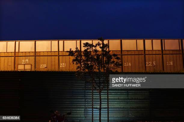 The United States Mexico Border wall near the San Ysidro Port of Entry in San Ysidro California on Friday February 10 2017 US Department of Homeland...