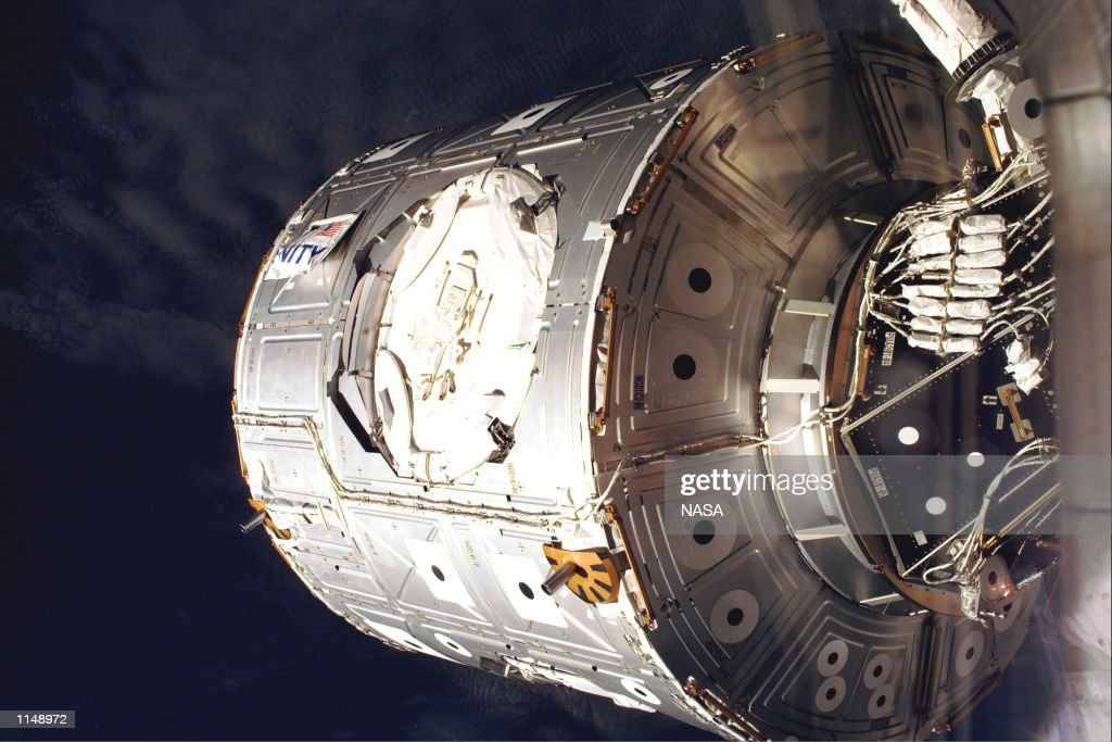 us shuttle joins russian space station - photo #49