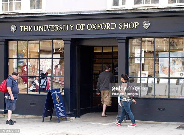 The University of Oxford shop Oxford UK