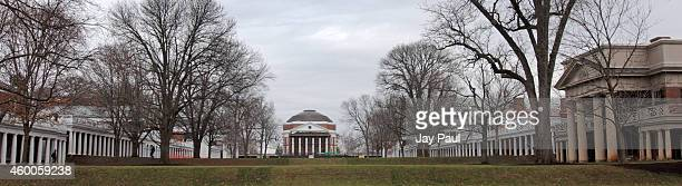 The University of Virginia campus is seen on December 6 2014 in Charlottesville Virginia On Friday Rolling Stone magazine issued an apology for...