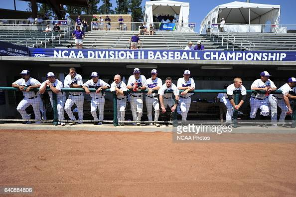 The University of West Florida takes on Winona State University during the Division II Men's Baseball Championship held at the USA Baseball National...