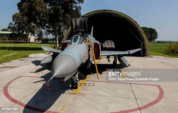 The upgraded F-4E Phantom of the Hellenic Air Force, Andravida, Greece.