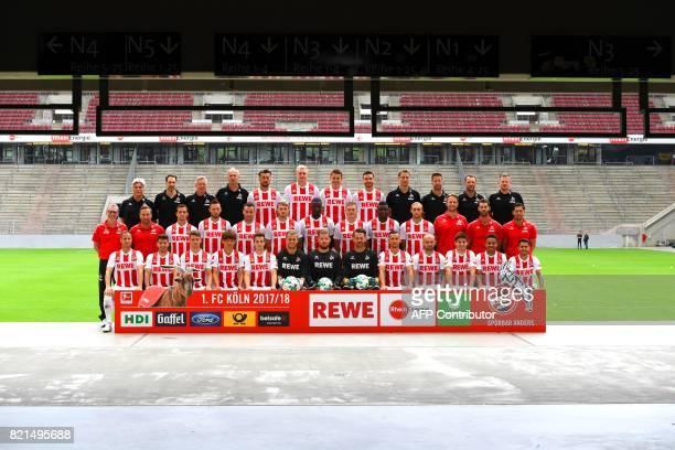 The upper row doctor Peter Schaeferhoff doctor Paul Klein kit manager Frank Almstedt kit manager Kresimir Ban Dominic Maroh Frederik Soerensen...