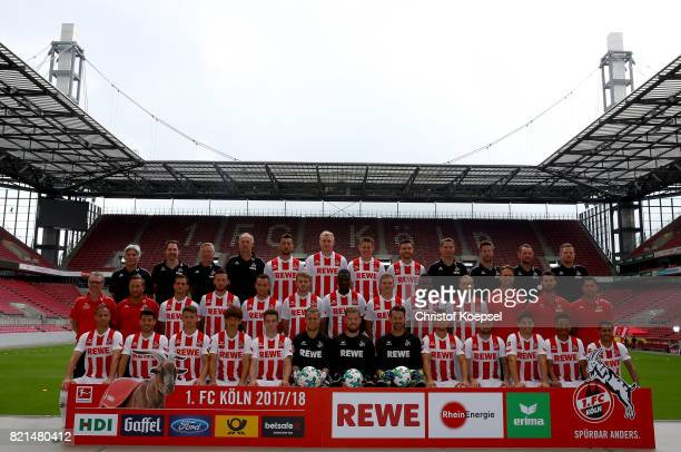 The upper row starts with doctor Peter Schaeferhoff doctor Paul Klein kit manager Frank Almstedt kit manager Kresimir Ban Dominic Maroh Frederik...