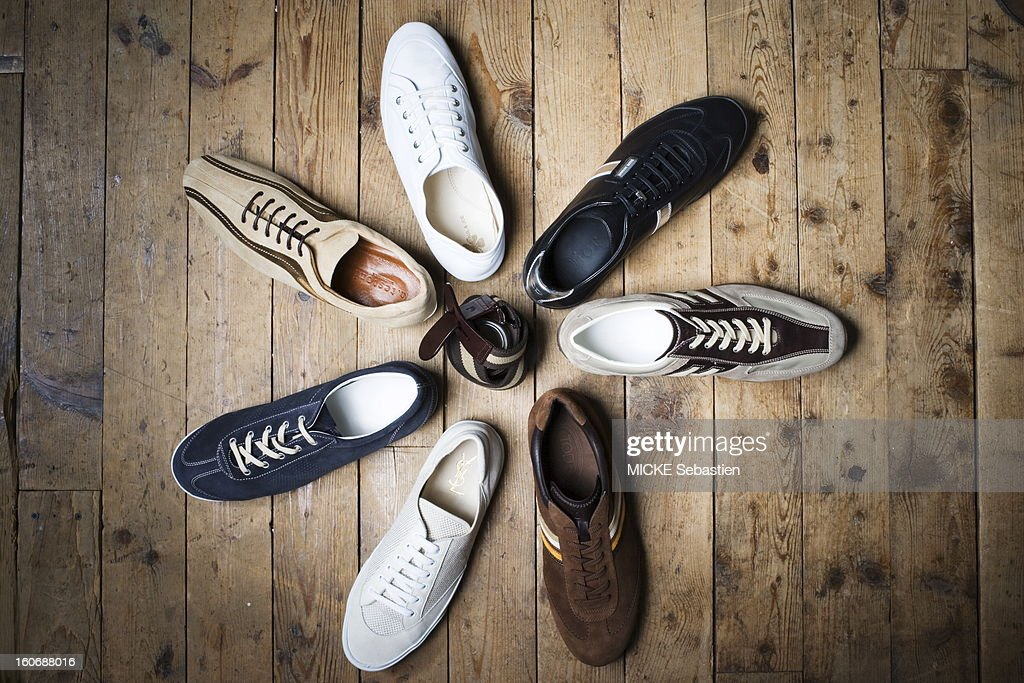 The urban basketball in the direction of clockwise white leather PAUL amp JOE Man basketball black leather and silver Dior Homme by Hedi Slimane...