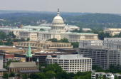 The US Capital and the Washington DC skyline are seen in this 16 May 2005 aerial photo AFP Photo/Paul J RICHARDS