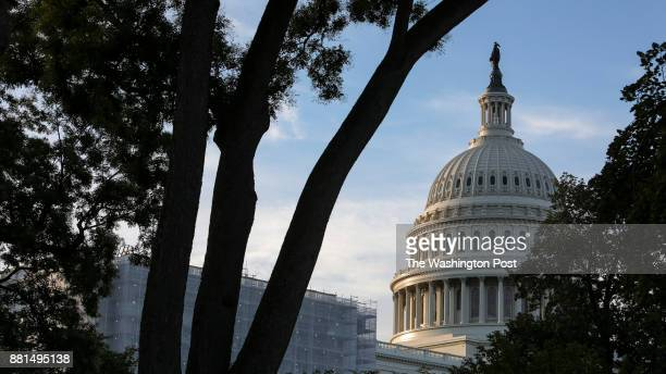 The US Capitol Building is seen in Washington DC early Tuesday on July 25 2017