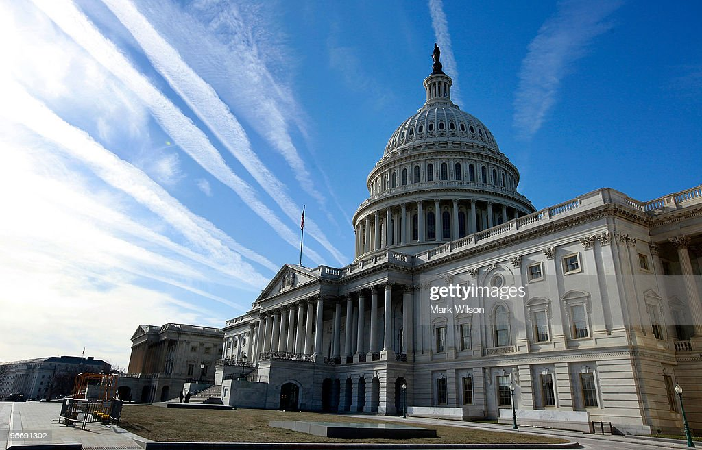 The US Capitol building is seen on January 11 2010 in Washington DC The United State Senate remains on break and is scheduled to return on the week...