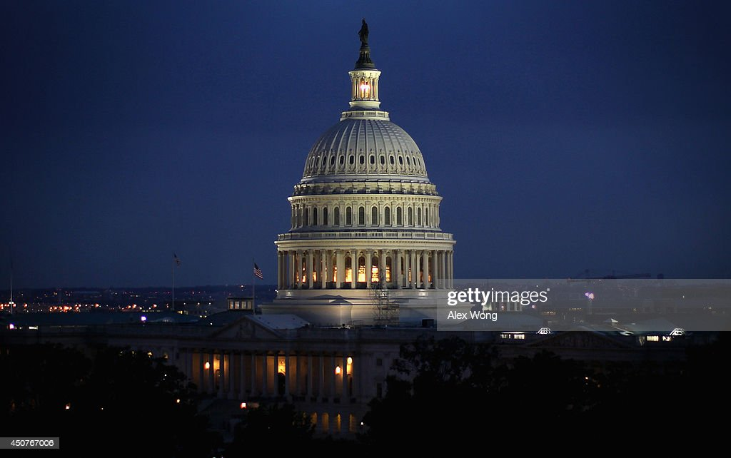 The US Capitol building is seen on the evening of June 10 2014 in Washington DC