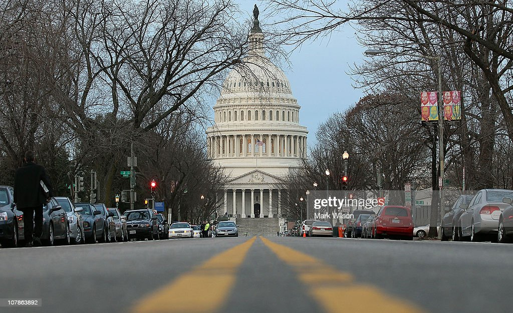 The U.S. Capitol building is seen on the morning of January 4, 2011 in Washington, DC. The new 112th Congress is due to be sworn in on Wednesday January 5, with the House being lead by House Speaker elect John Boehner (R-OH). President Barack Obama's Healthcare reforms are expected to be a target for the Republicans, who now dominate the new House of Representatives with Democrats maintaining a small majority in the Senate.
