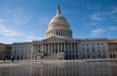 The US Capitol is seen on November 19 2011 in Washington DC The Joint Select Committee on Deficit Reduction or super committee which faces a...