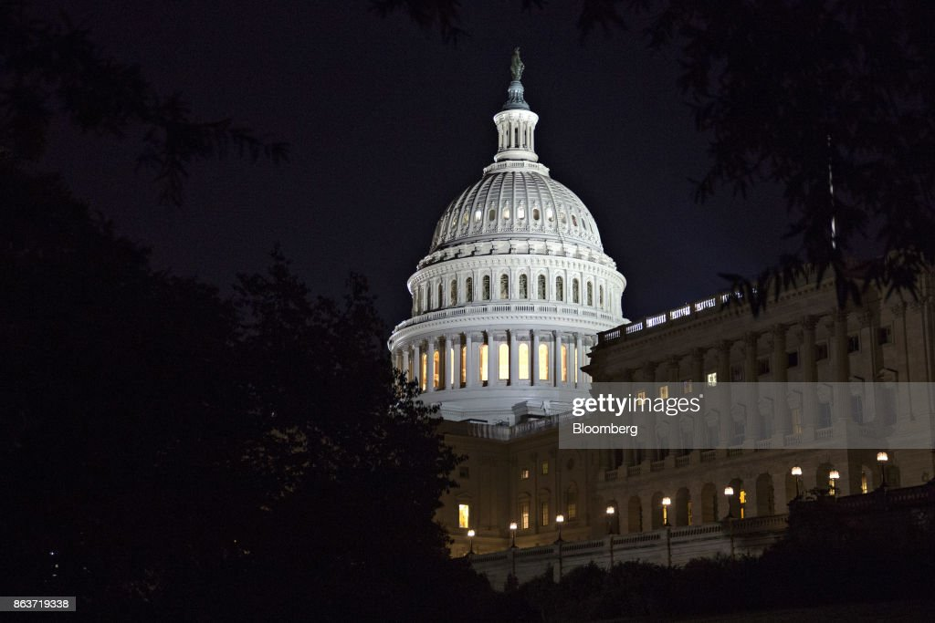 Views Of The U.S. Capitol As Congress Debates Tax Reform