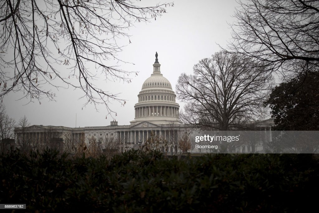 Views Of The U.S. Capitol After A Two-Week Extension Of Federal Funding Averted A Government Shutdown