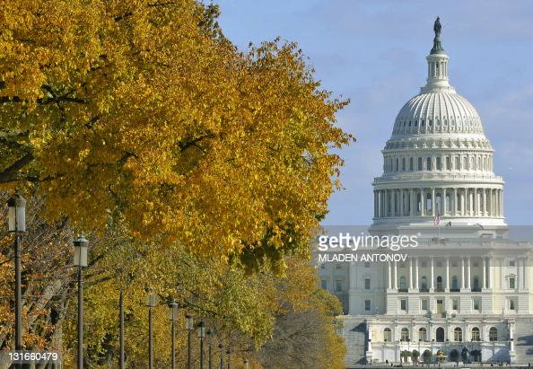 The US Congress building seen during a sunny November afternoon in Washington DC November 06 2011 AFP PHOTO/Mladen ANTONOV