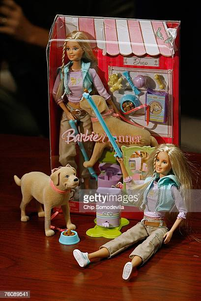 The US Consumer Product Safety Commission announced the recall of millions of toys manufactured by Mattel Inc including the Barbie and Tanner play...