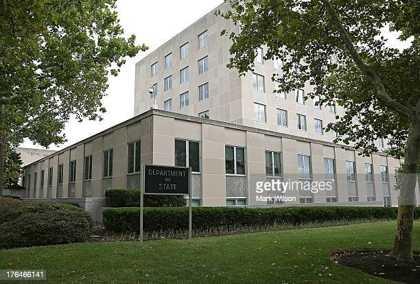 The US Department of State is seen on August 13 2013 in Washington DC