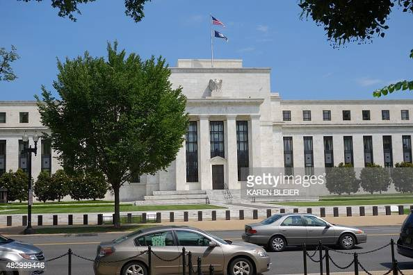 The US Federal Reserve building is seen August 1 2015 in Washington DC AFP PHOTO / KAREN BLEIER