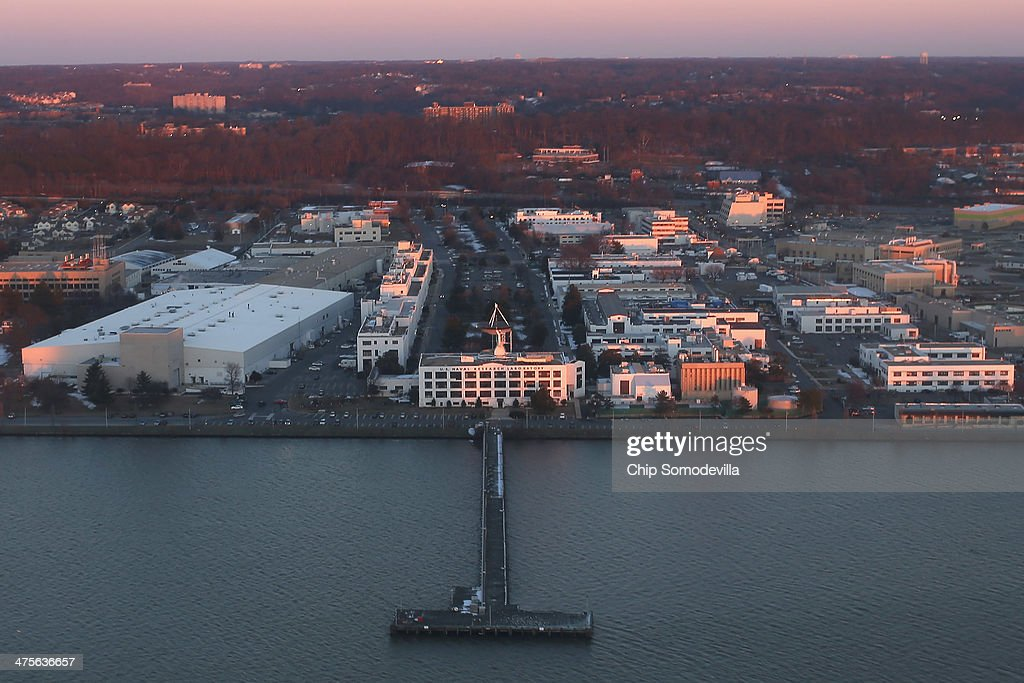 The US Naval Research Labratory along the Potomac River February 26 2014 in Washington DC