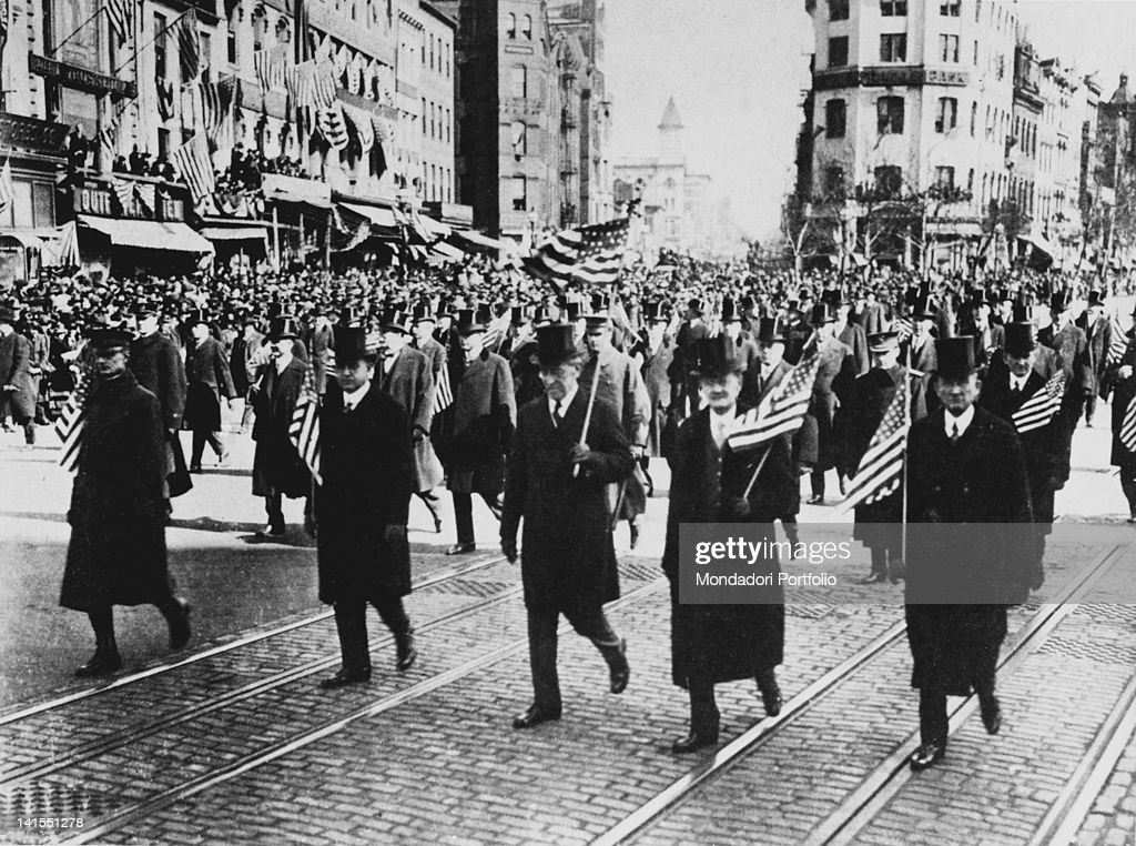 the significance of woodrow wilson in america Despite support by president woodrow wilson, the us senate rejected the  treaty of versailles and wilson's proposed league of nations, which aimed to.