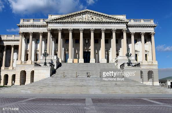 The US Senate building adjacent to the U S Capitol Building on April 11 2015 in Washington DC