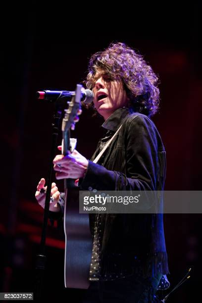 The US songwriter of Italian origin Laura Pergolizzi known as LP's art name has performed live at the Gru Village Festival on July 26 2017 The real...