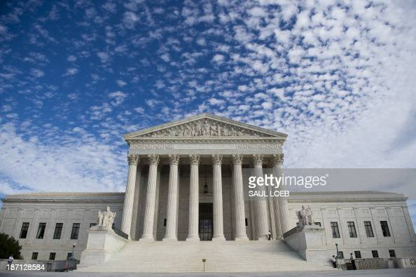 The US Supreme Court in Washington DC November 6 2013 Earlier the Court heard oral arguments in the case of Town of Greece v Galloway dealing with...