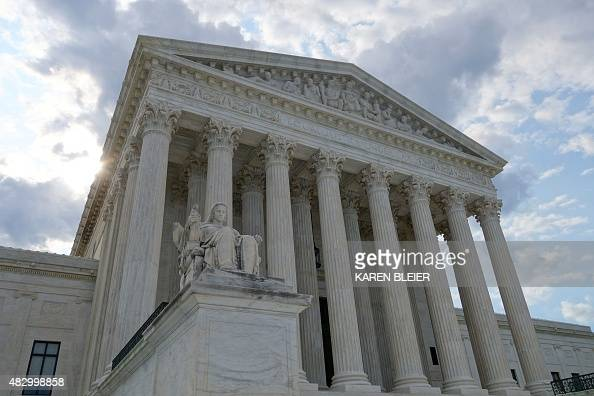 The US Supreme Court is seen August 1 2015 in Washington DC AFP PHOTO / KAREN BLEIER