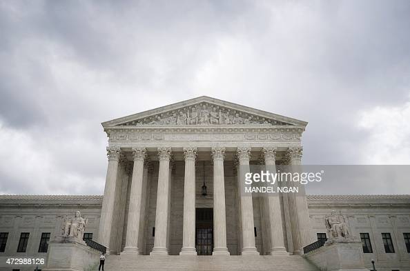 The US Supreme Court is seen on May 11 2015 AFP PHOTO/MANDEL NGAN