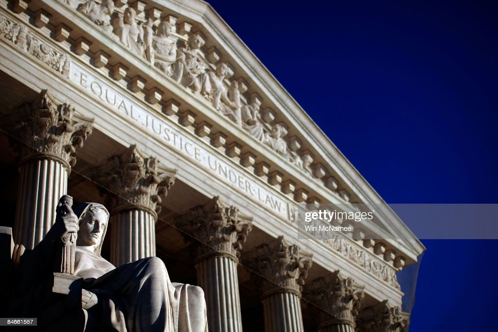 The U.S. Supreme Court is shown February 5, 2009 in Washington, DC. It was announced today that Supreme Court Justice Ruth Bader Ginsburg had surgery after being diagnosed with pancreatic cancer.