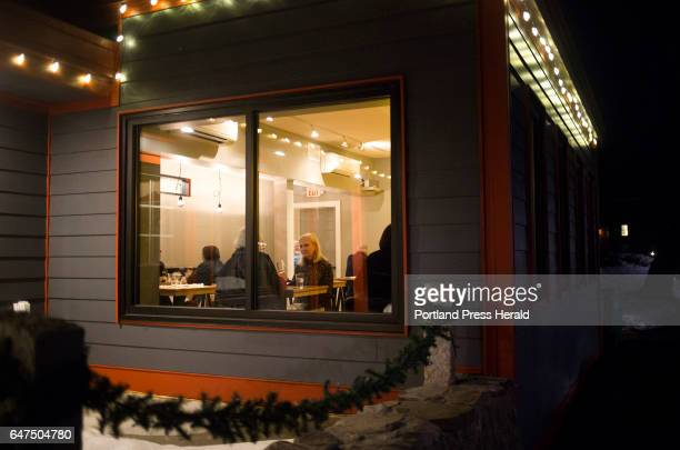 The use dining room from outside at Salt Pine Social which opened in October