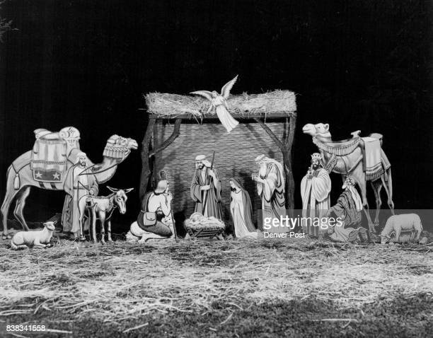 The use of the creche as a Christmas symbol dates to 1224 when St Francis of Assisi set up a manger scene above the village of Greccio Italy to...
