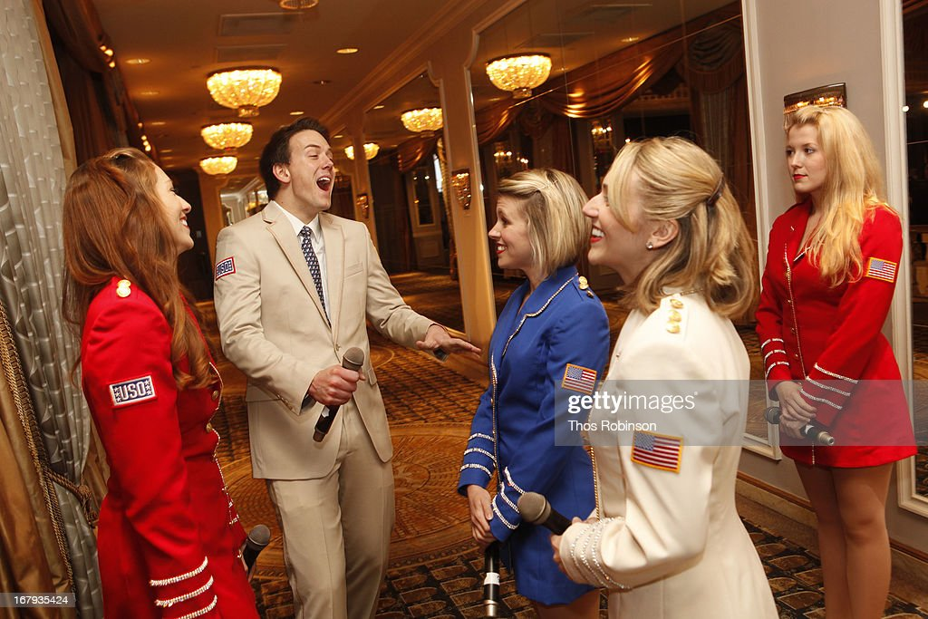 The USO Show Troupe attends the USO Woman Of The Year Luncheon at The Pierre Hotel on May 2, 2013 in New York City.
